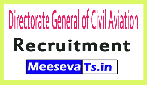 Directorate General of Civil Aviation DGCA Recruitment