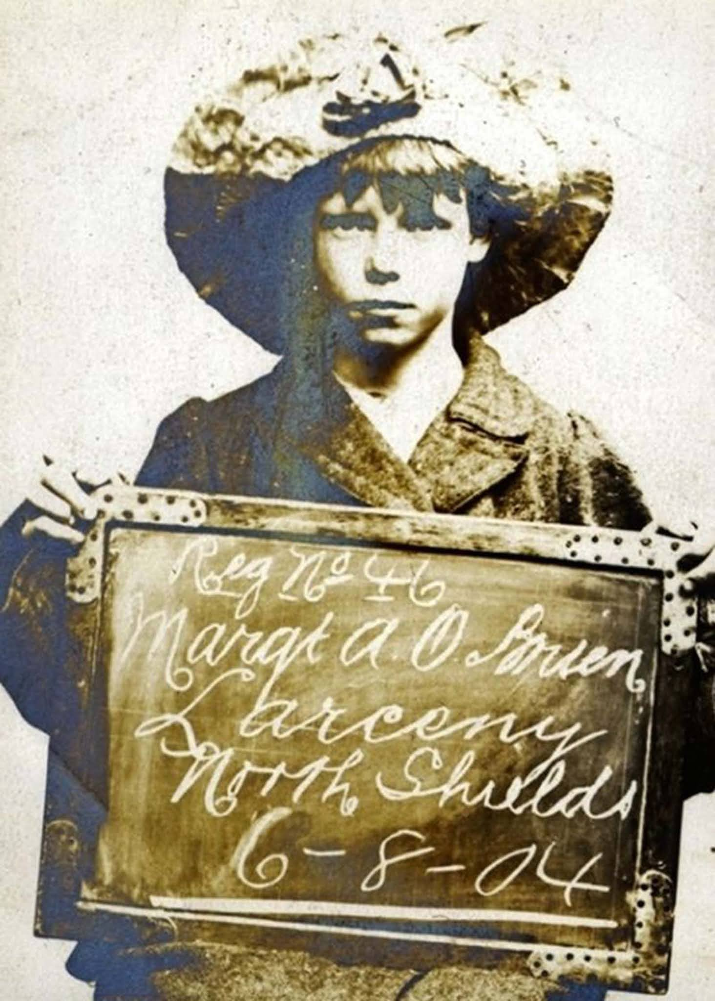 mugshots child criminals edwardian britain