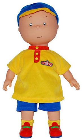 Caillou Doll Amp Caillou Learning Train Review