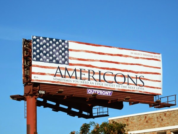 Americons movie billboard