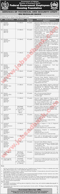 Federal government employees housing foundation jobs 2019