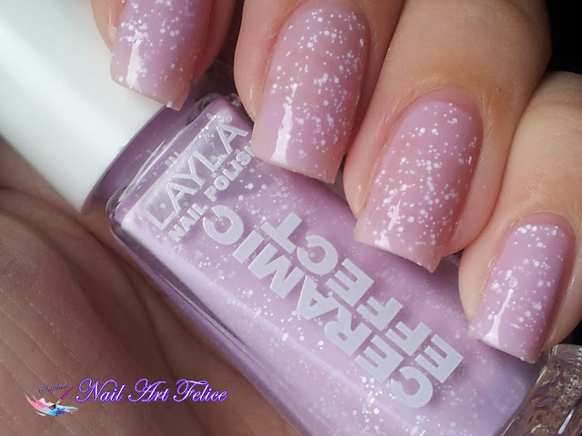 CE103 Soft Fruits - Ceramic Sorbet Effect Layla - Swatch02 - Nail Art Felice