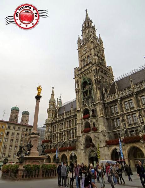 Munich - Nuevo Ayuntamiento, Marienplatz