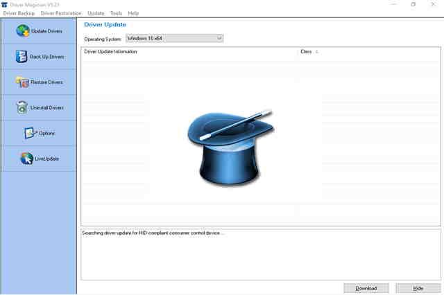 تنزبل برنامج درايفر ماجيك Driver Magician لتحديث تعريفات جهاز الكمبيوتر وعمل نسخ احتياطي لجميع التعريفات.