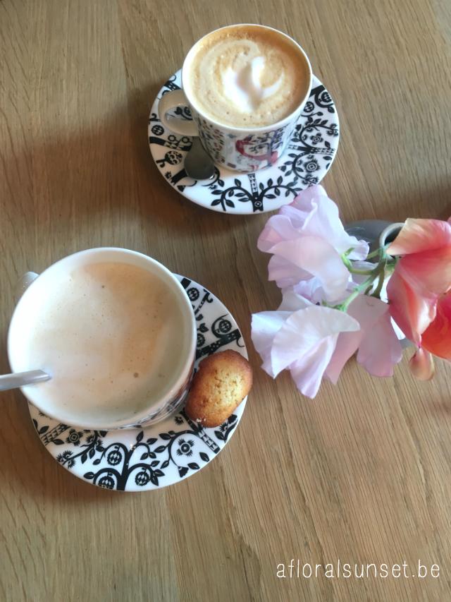 Hotspot Moss: ontbijt van een sterrenchef in Antwerpen - a floral sunset