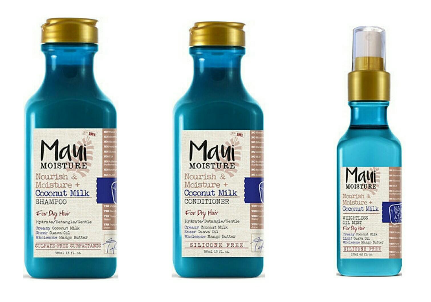 New Haircare Brand Maui Moisture The Budget Beauty Blog