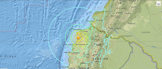 Terremoto en Ecuador Manabi Guayaquil Quito Cuenca