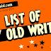 List of PTV Old Writers