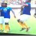 "Jay-Jay Okocha Dances Zanku During  An ""Unmissable Match"" With Puyol In Uyo"