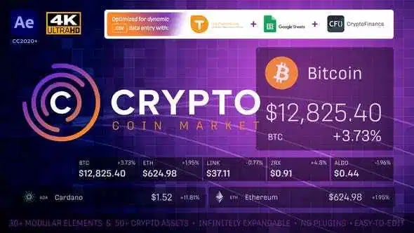 Videohive Cryptocurrency Coin Market Kit | Bitcoin Tracker 28501166