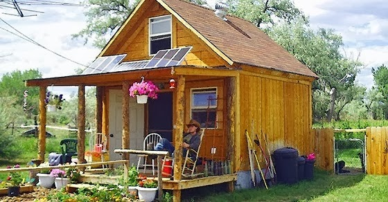 How To Build a 400 Square Foot Solar Powered Off Grid Cabin for $2,000
