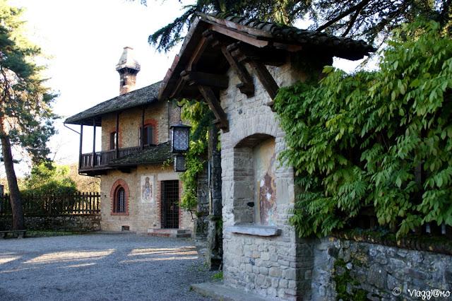 Le belle case del Borgo di Grazzano Visconti