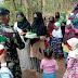 Puluhan Anak Ucapkan Hari Jadi TNI Ke-75 Di Lokasi TMMD Reguler 109
