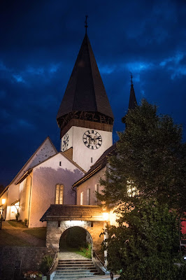 Saanen Church - one of the Gstaad Menuhin Festival venues