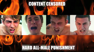 Hard gay spanking videos made by No Way Out Punishment