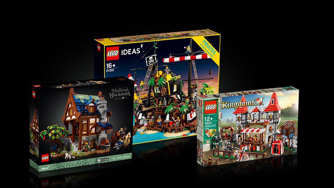 レゴアイデアもし中世にかじ屋がなかったら?動画コンテスト開催(2021)
