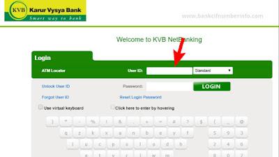 KVB internet banking login