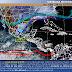 El Frente Frío Número 17 ocasionará lluvias de muy fuertes a intensas en el oriente y sureste de México
