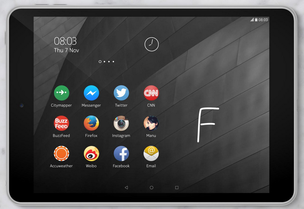 Nokia N1 is easy to use with Nokia Z Launcher