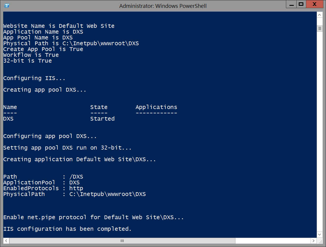 WCF/WF Service Deployment Automation with PowerShell