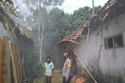 Angin Ribut Landa Pengadegan, 22 Rumah Warga Rusak