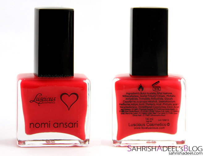 Luscious Designer Nail Colors - Review & Swatches
