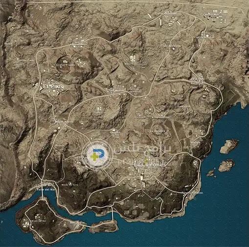 خريطة ميرامار Miramar
