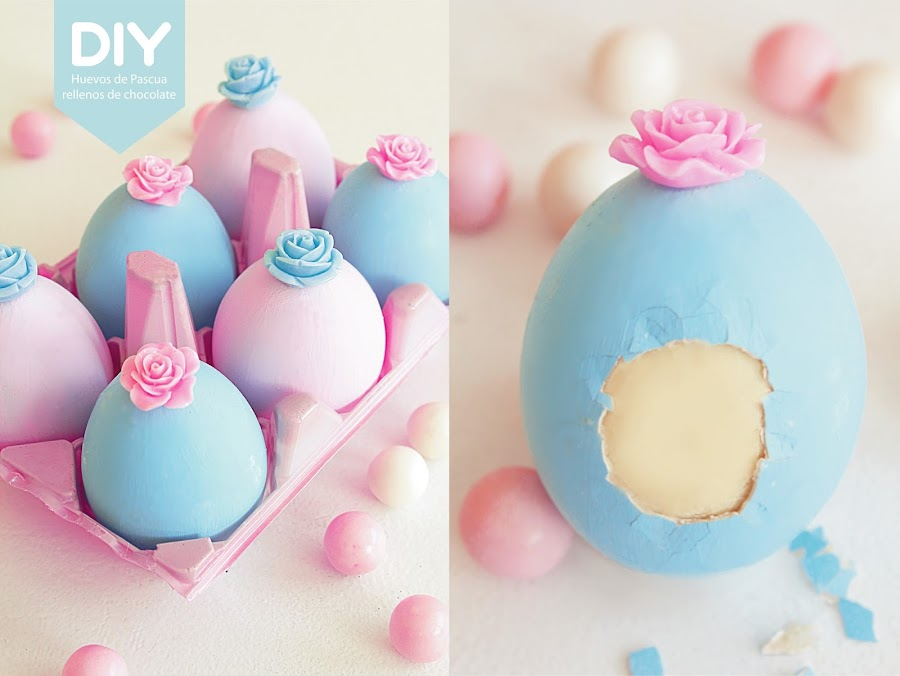 DIY Huevos de pascua decorados