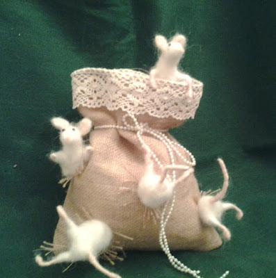 myszki filcowane