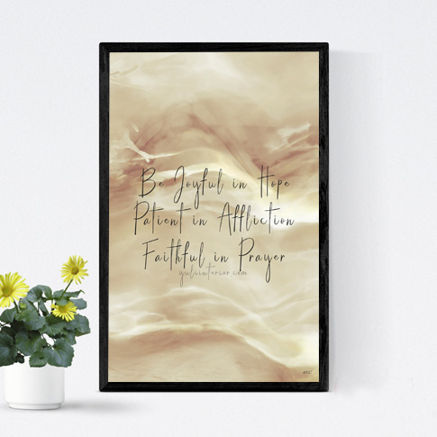 Christian Scriptural Motivation Wall Art, Wall Frame in Port Harcourt, Nigeria