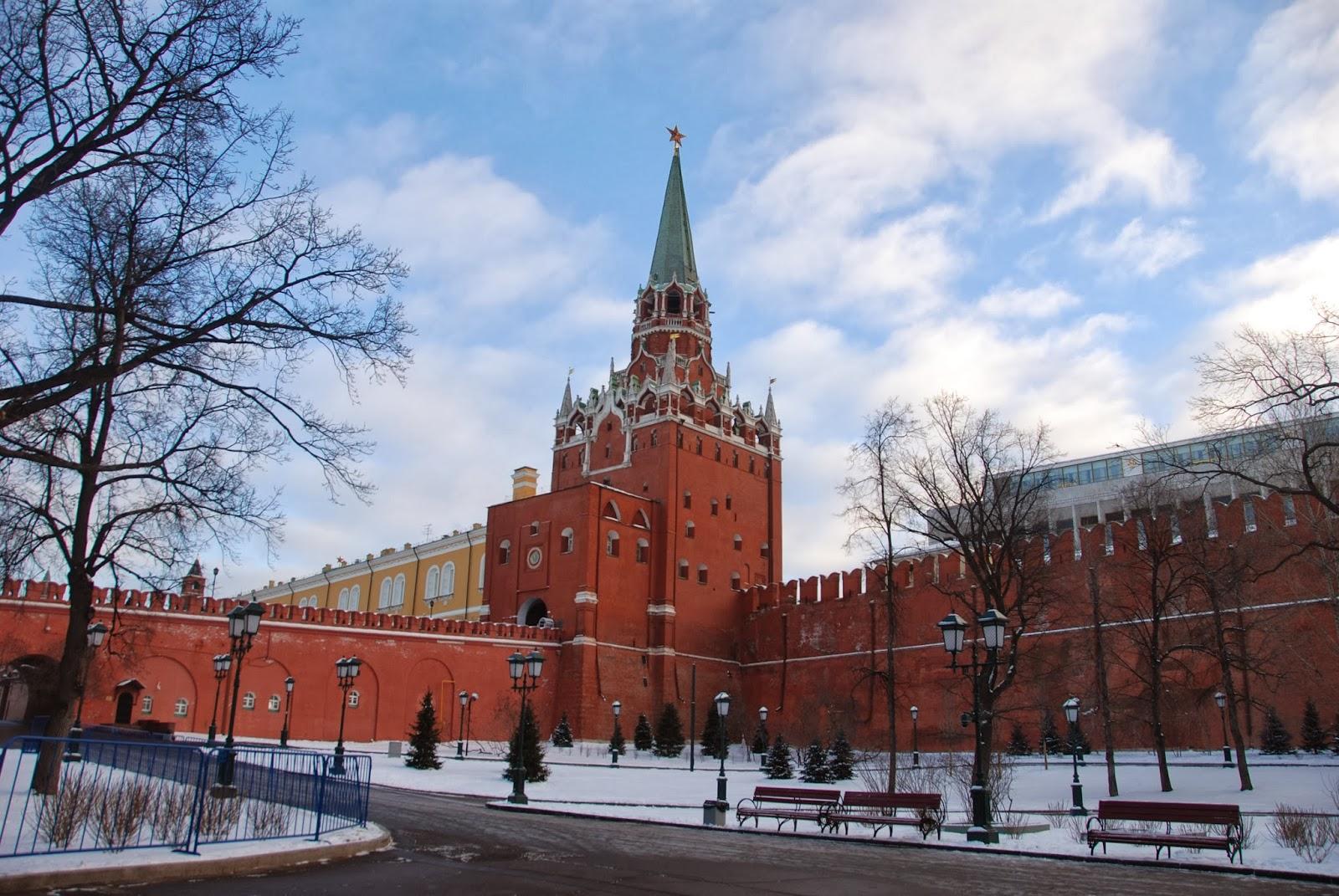 旅行日記: Day15 莫斯科(克里姆林宮、紅場)