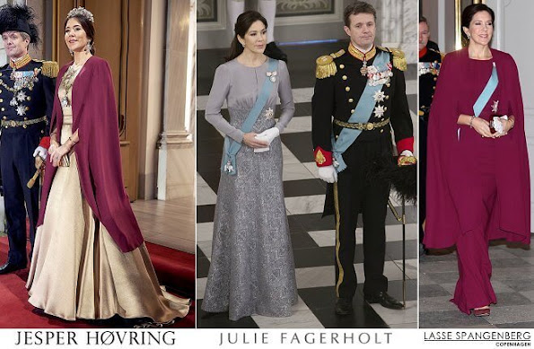 Princess Mary outfits, Jesper Høvring, Julie Fagerholt, Lasse Spangenberg dress