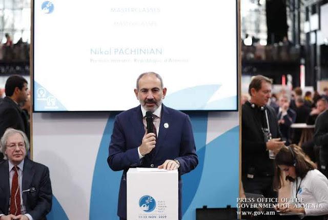 Pashinyan insta a Aliyev a apoyar su declaración