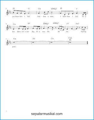 Feeling Good 2 chords jazz standar