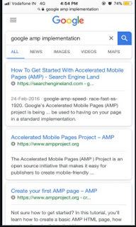 The Accelerated Mobile Pages