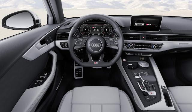 Audi S4 2017 - interior