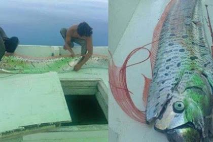 Viral ! Benarkah Penemuan Ikan Oarfish Jadi Pertanda Akan Terjadi Tsunami Dan Gempa ?