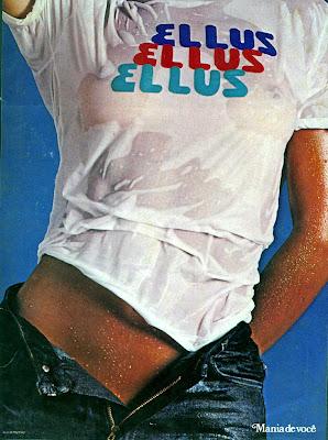 propaganda jeans ellus 1979. Moda anos 70. História década 70. moda feminina anos 70.