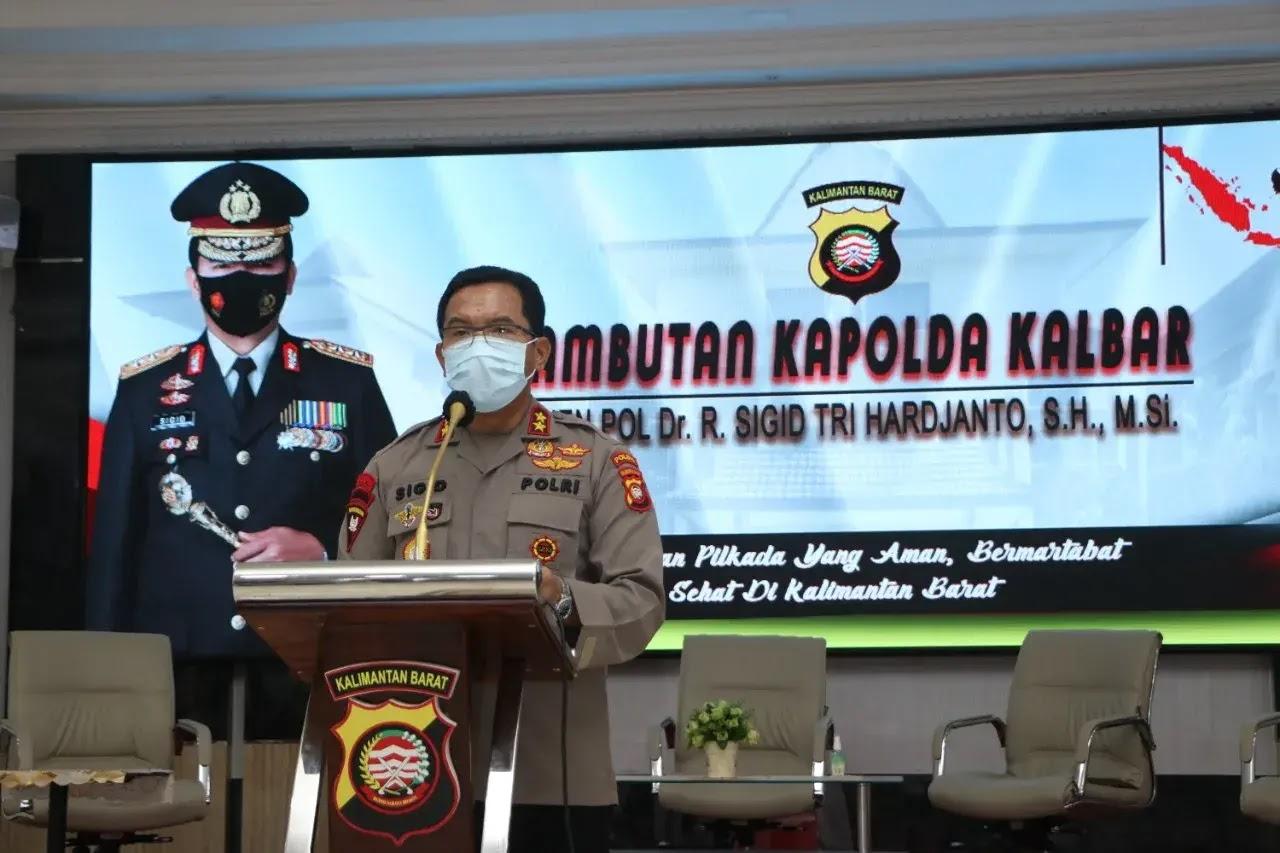 Kapolda Kalimantan Barat Irjen Pol Dr. R. Sigid Tri Hardjanto