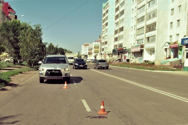 В Башкирии 87-летнюю женщину сбила иномарка