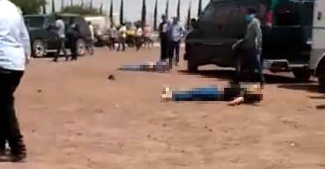 VIDEO.- Carreras de caballos termina en balacera hay 5 muertos y más de 5 heridos en Hidalgo !Míralo, míralo, hazte para allá Güey!
