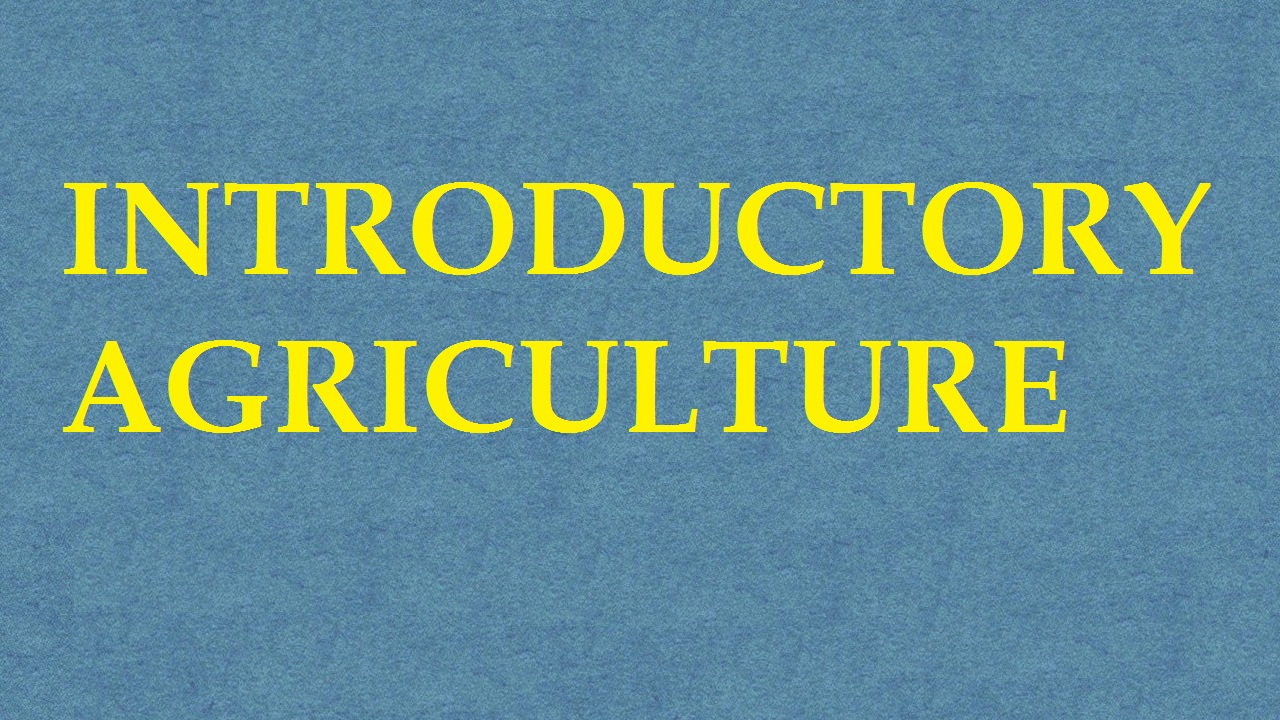 Introductory Agriculture ICAR E course Free PDF Book Download e krishi shiksha