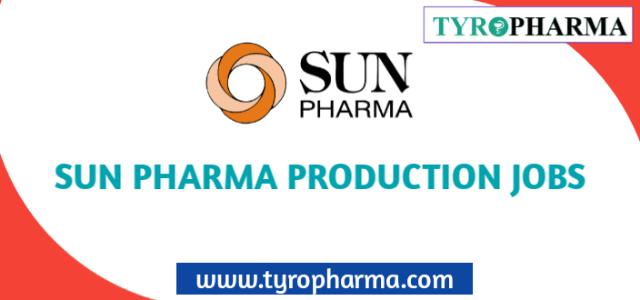 Sun Pharmaceutical Ltd Production job