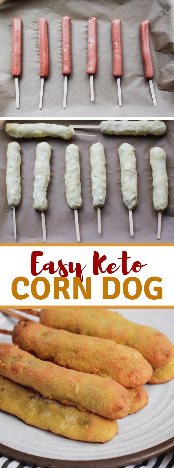 KETO CORN DOGS #healthy #ketofriendly