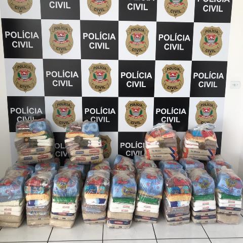 Polícia Civil doa mais de meia tonelada de alimentos a famílias carentes no Vale do Ribeira