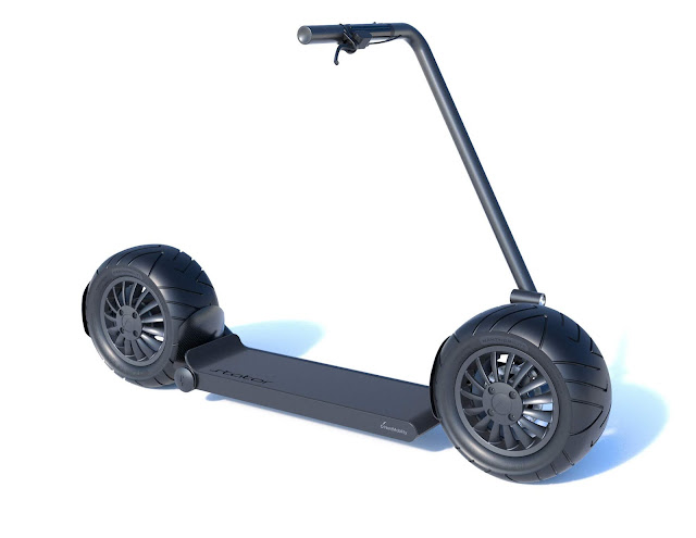 NantMobility Announces Release of Groundbreaking Micromobility Scooter