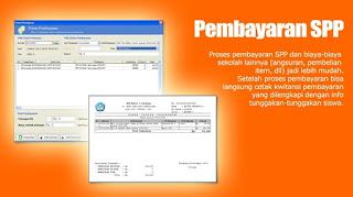 Jual Aplikasi Software pembayaran siswa SPP