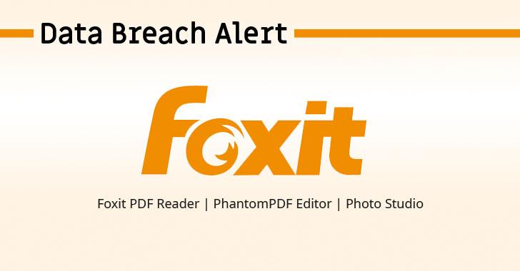 foxit pdf reader data breach hacking
