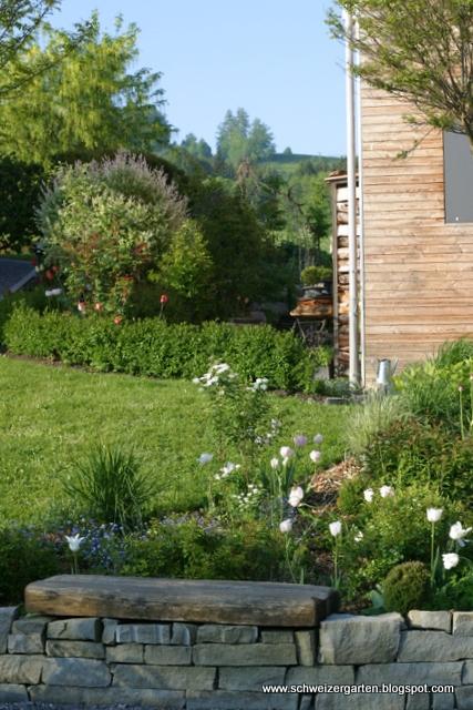 Ein Schweizer Garten Ganz In Weiss