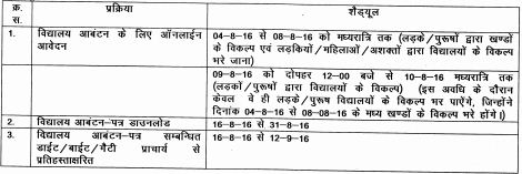 image : D.Ed. Internship 2016-17 Schedule @ Haryana Education News